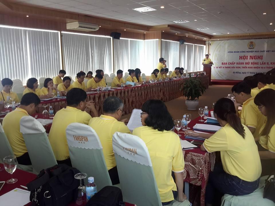 Hội nghị BCH Công đoàn Công nghiệp Hóa chất Việt Nam mở rộng